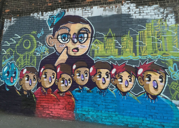 Former WSU student's mural canceled following Populux tweet and public backlash